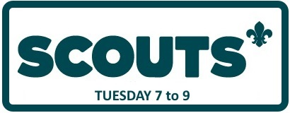 Scouts Tuesdays 7 to 9pm