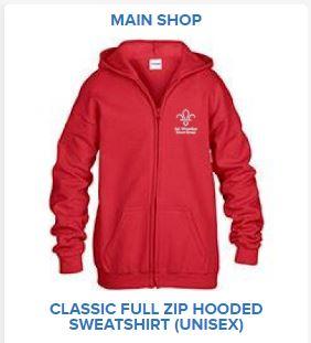 Classic Full Zip Hooded Sweatshirt (Unisex)