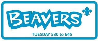 Beavers - Tuesday 5.30 to 6.45